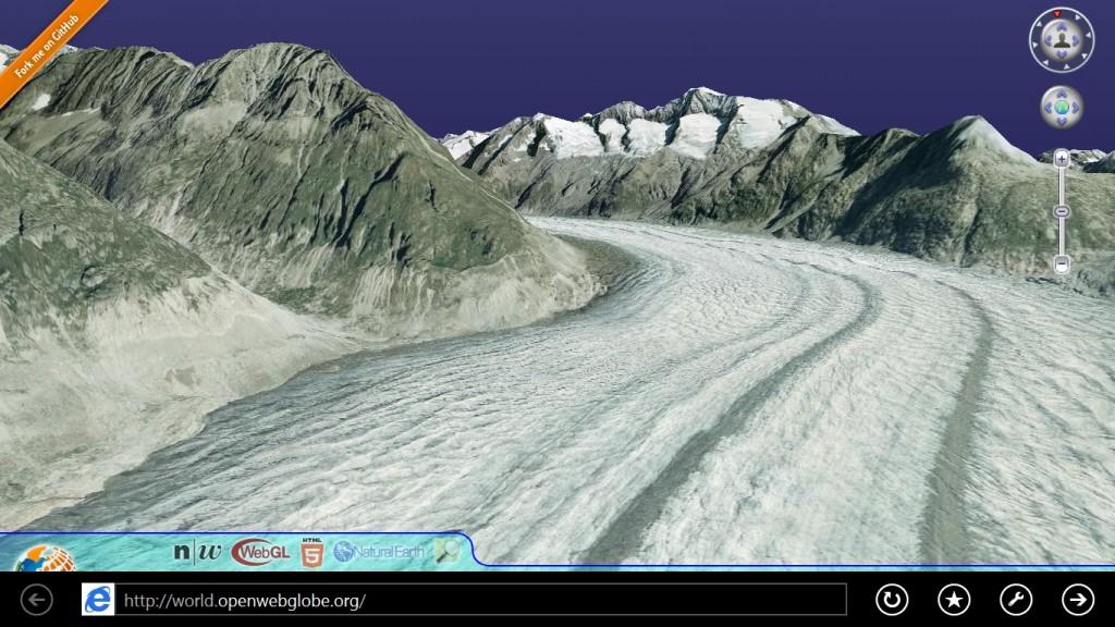 Internet Explorer 11 3D