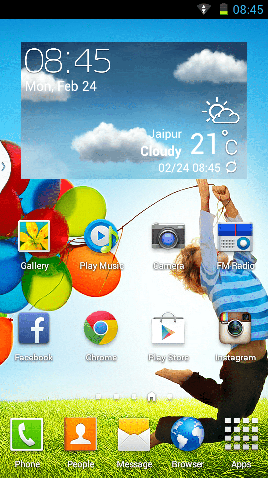 Fusion ROM for Micromax A114 Canvas 2.2 - Galaxy S4 Styled (Stable) 6