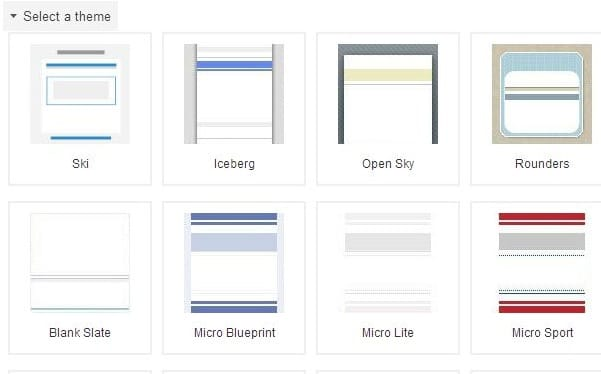 Google Sites for Blogging