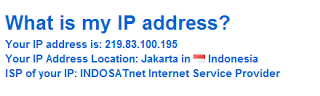 Indonesian Proxy