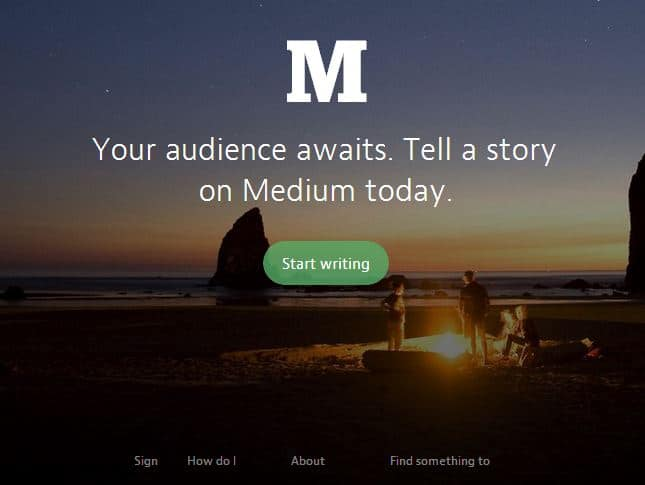 Medium- Blogging Platform integrated with Twitter