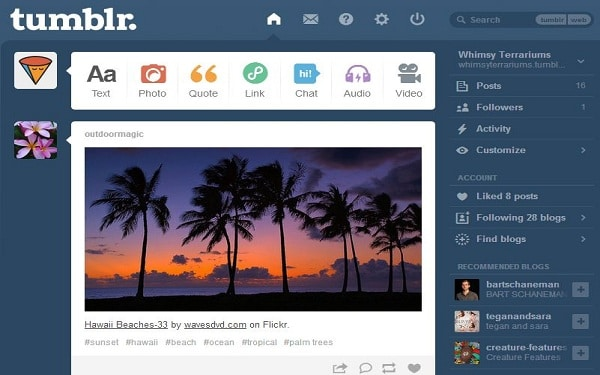 Tumblr - Free Blogging Platform