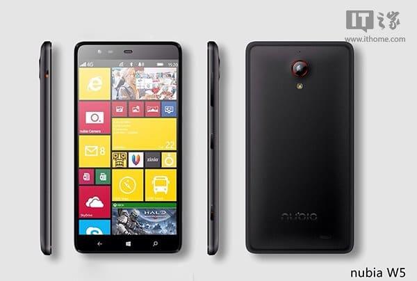 ZTE Nubia 5 - Windows Phone 8.1 Device