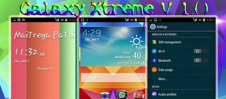 Galaxy Xtreme Rom for Micromax A114 Canvas 2 2 {Galaxy S5}