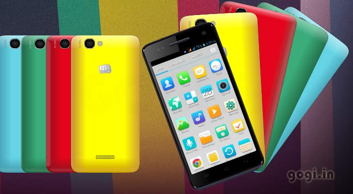 Stock Rom for Micromax A120 Canvas 2 Colours {Custom Rom}