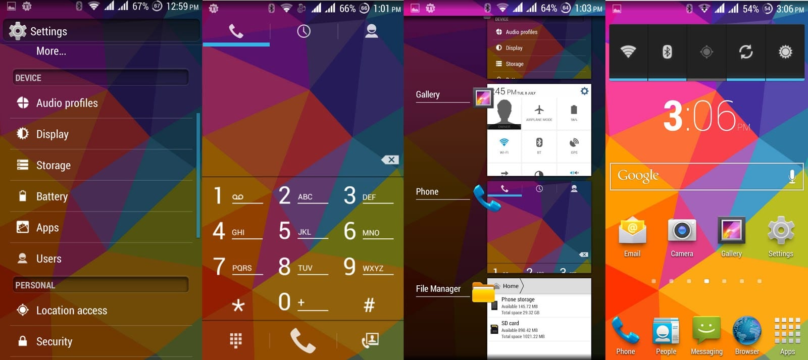 Android 4.4.2 KitKat Rom for Micromax A114 Canvas 2.2