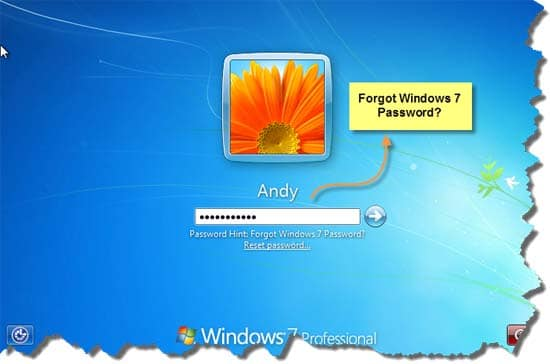 How to Remove Lost Login Password in Windows 7 and 8 1