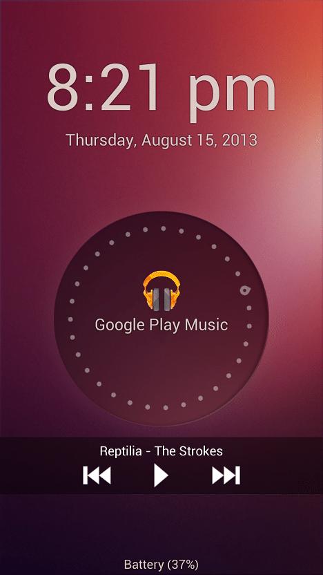 Ubuntu Lock Screen for Android