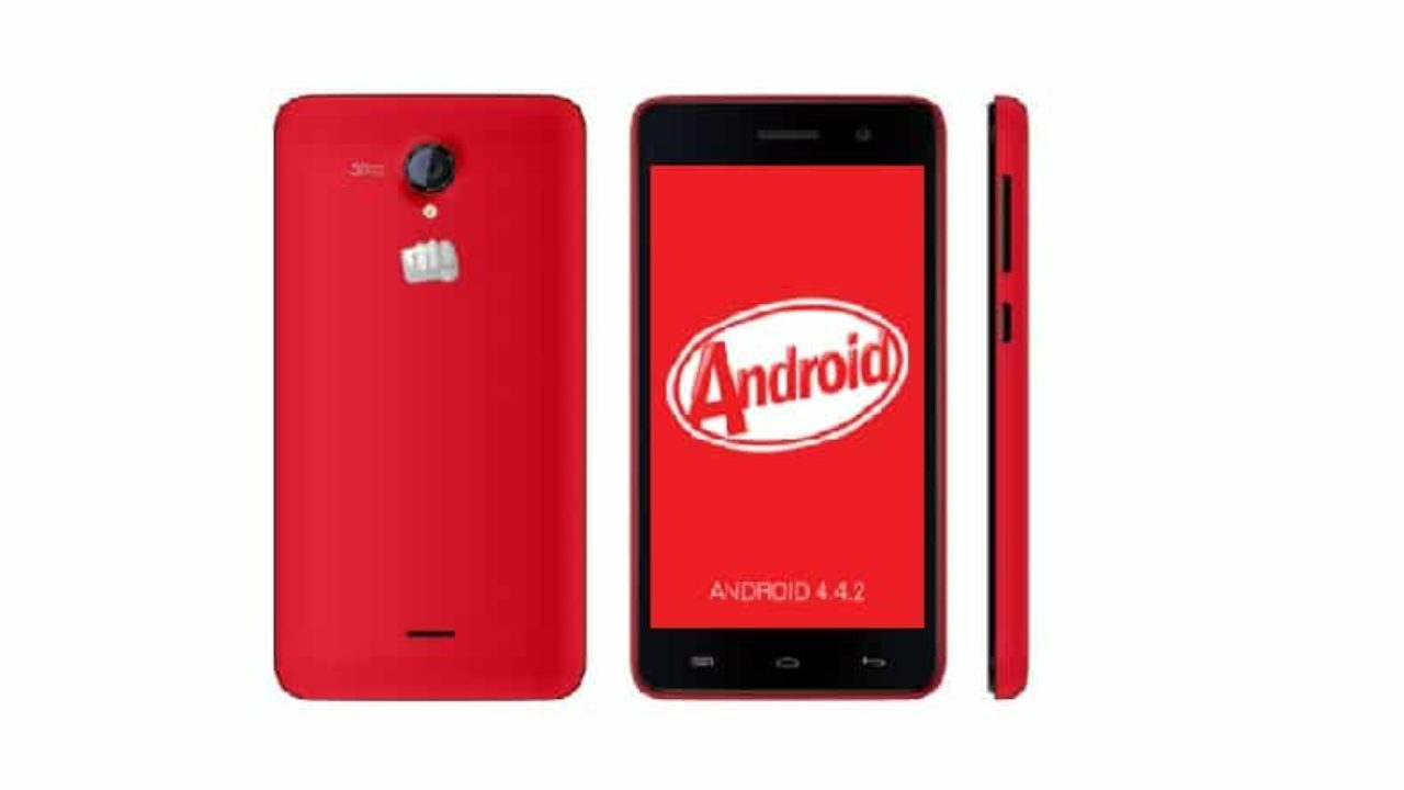 AOSP Kitkat Rom for Micromax A106 Unite 2 (CleanKat Android