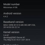 AOSP Kitkat Rom for Micromax A106 Unite 2 (CleanKat Android 4.4.2 ROM) 3