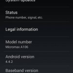 AOSP Kitkat Rom for Micromax A106 Unite 2 (CleanKat Android 4.4.2 ROM) 5