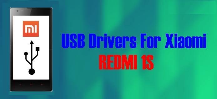 USB PC Drivers for Xiaomi Redmi 1S for Windows