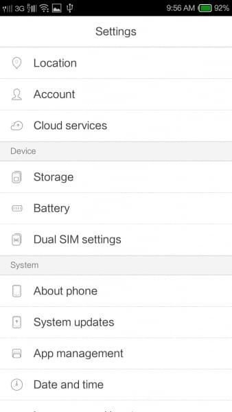 Yun OS 3.0.3 Stable Kitkat Rom For Xiaomi Redmi 1S 4