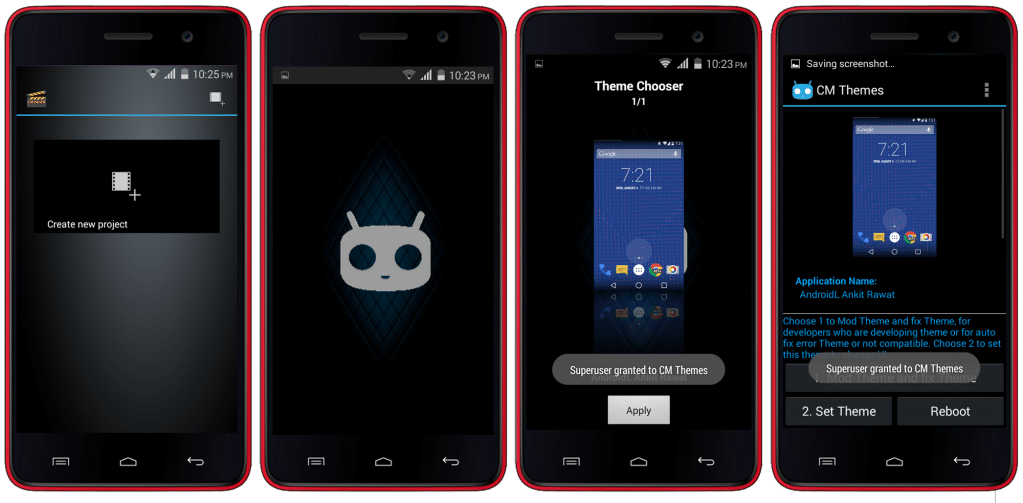 CynogenMod 11 For Micromax Unite 2 A106 (CM Themed Cynite Ultra ROM) 2
