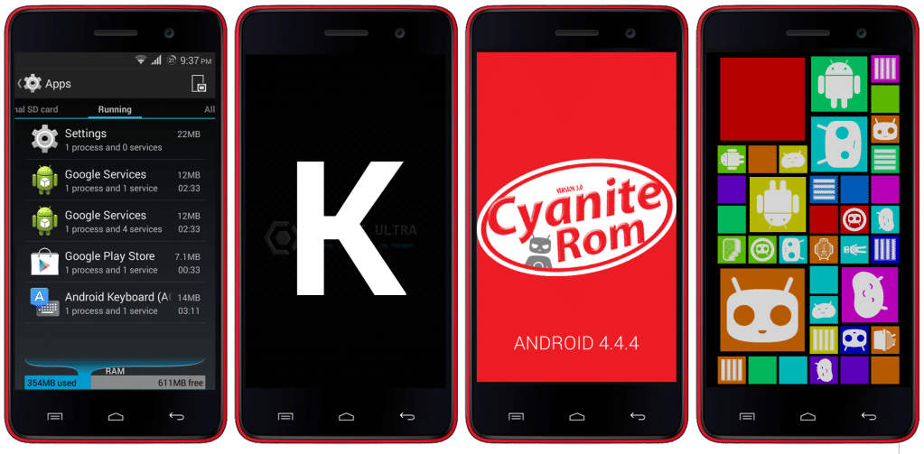 CynogenMod 11 For Micromax Unite 2 A106 (CM Themed Cynite Ultra ROM) 6