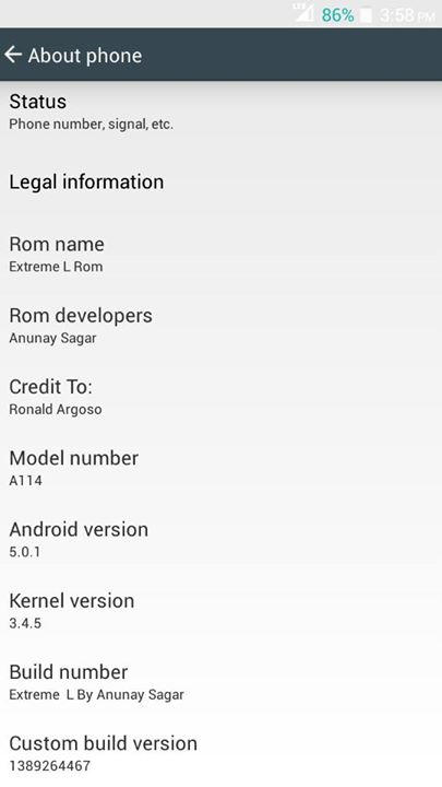 lollipop update for micromax canvas 2.2, Extreme L Rom For Micromax Canvas 2.2 A114 [Lollipop Themed]