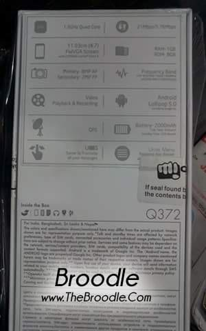Micromax Unite 3 Leaked (thebroodle.com)