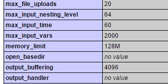 max_input_vars value