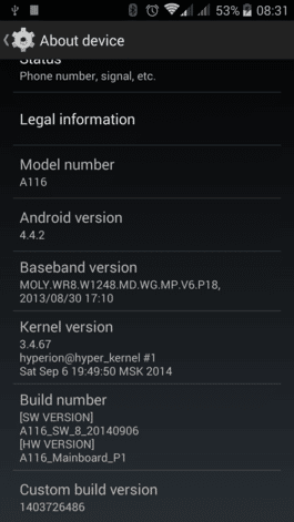 AOSP Android 4.4.2 Kitkat For Micromax Canvas HD A116 (Stable ROM) 2