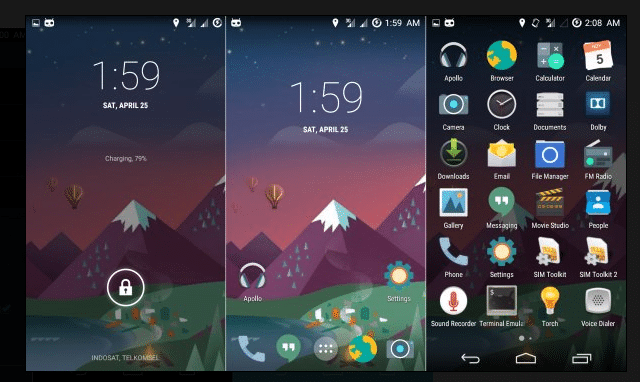 crDroid Rom for Xiaomi Redmi 2 (Android 4.4.4 Kitkat ROM) 3
