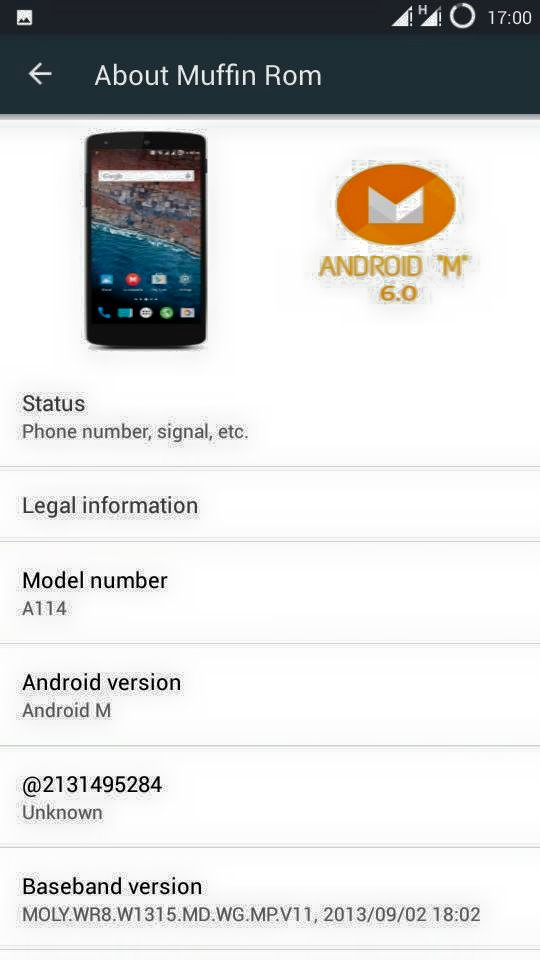 Android M 6.0 Rom for Micromax Canvas 2.2 A114 1