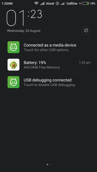 Download & Install MIUI 7 in Xiaomi Redmi 1S HM 1S 2