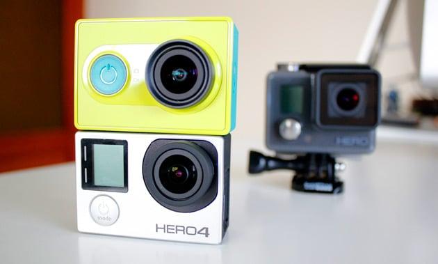Xiaomi Yi Action Camera vs Go Pro Hero