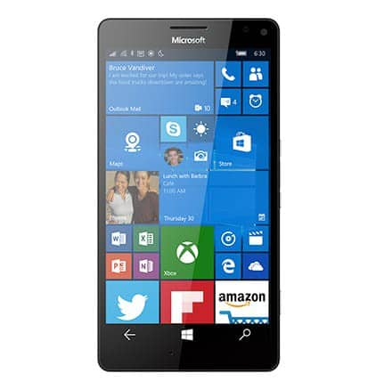 Microsoft Lumia 950 XL Front View