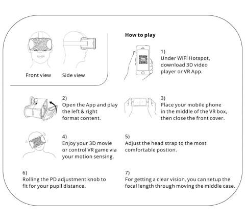 Zeb VR Headset Zebronics 3