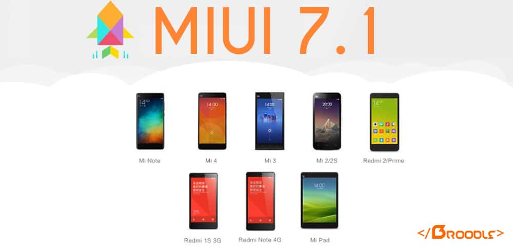 MIUI 7 1 Official Update for Xiaomi Redmi 1S (Download