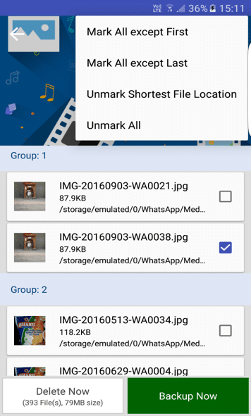 Find and Delete Duplicate Files on Android with Duplicate File Fixer 4