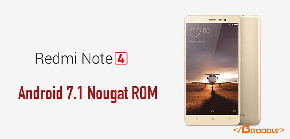 AOSPA Paranoid Android ROM For Xiaomi Redmi Note 4 (Indian Varient)