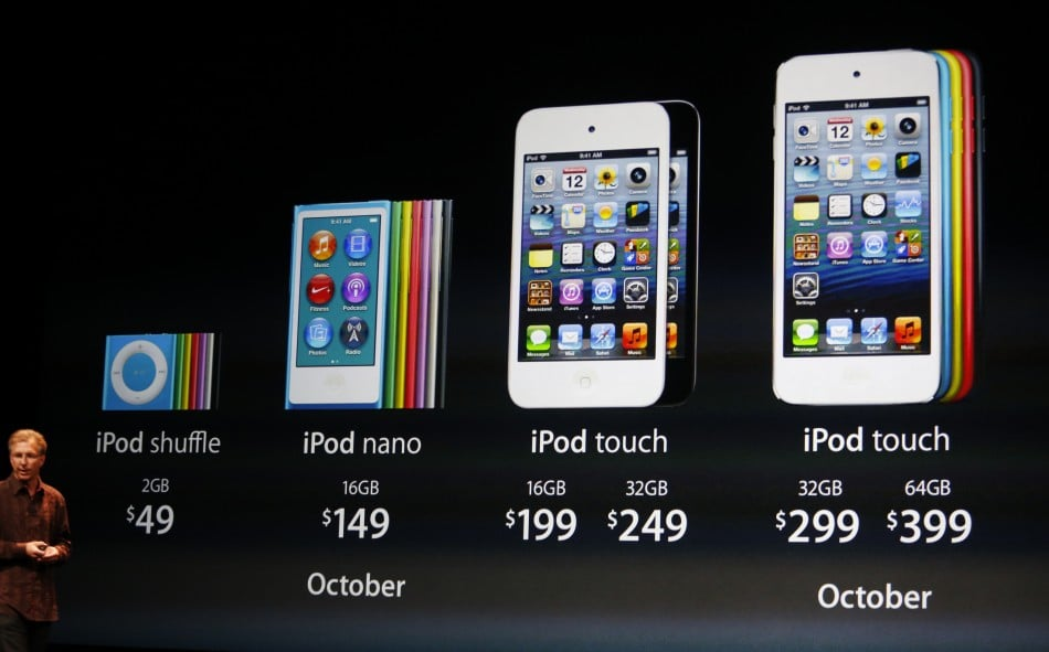 Apple Announces iPod Nano and Touch