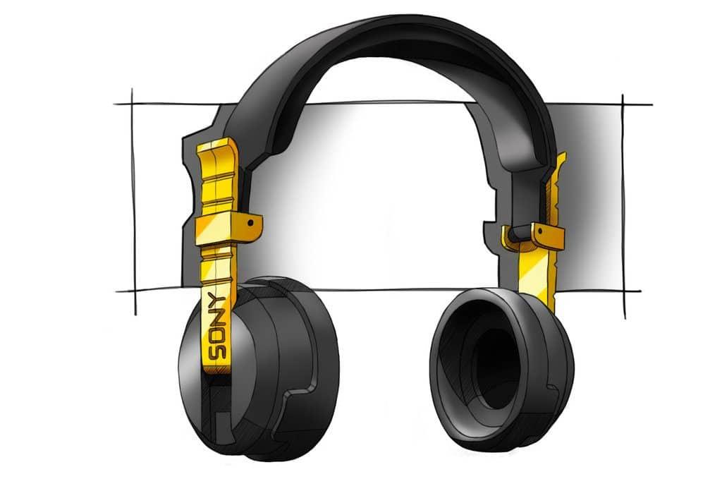 Headphone Designs Concept Sony