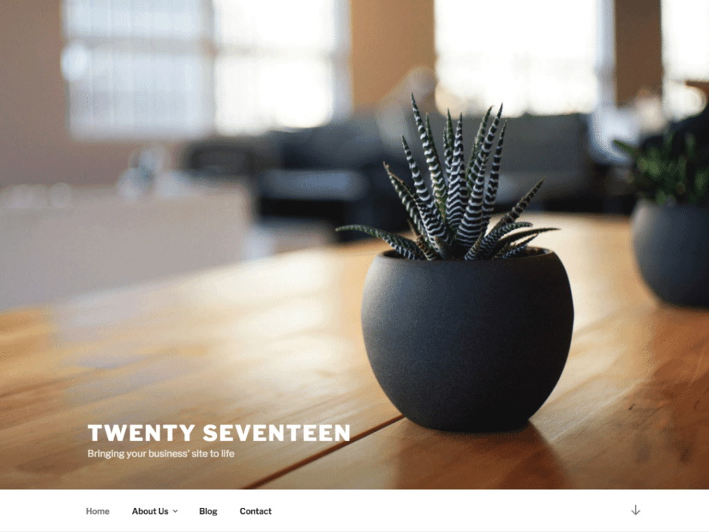 Twenty Seventeen WordPress Theme