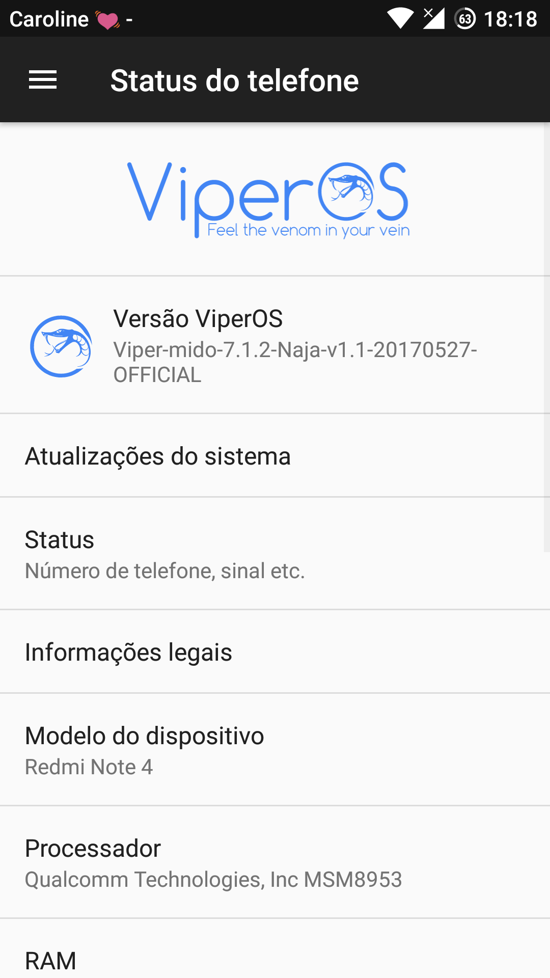 Xiaomi Redmi Note 4 Official ViperOS V3 0 ROM (Android 7 1 2