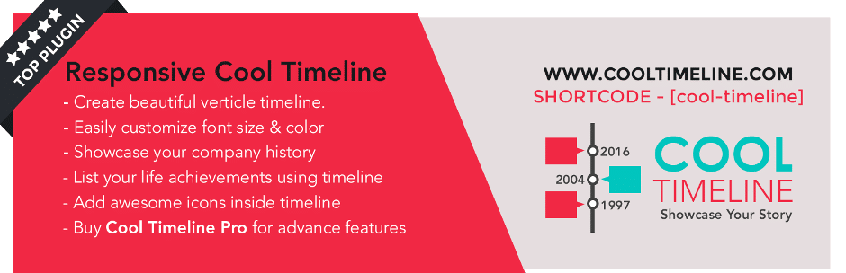 Cool Timeline Plugin for WordPress