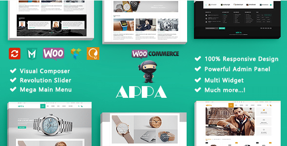 Top 10 Best WordPress Theme for Watch Shop/Store In 2018 10