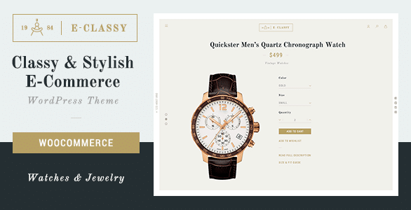 Top 10 Best WordPress Theme for Watch Shop/Store In 2018 4