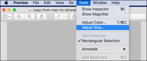 How to Resize Bulk Images at a Time in a Mac