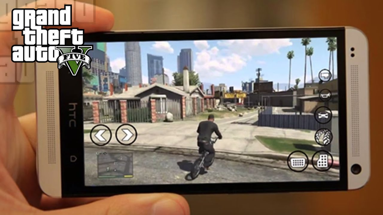How to Download and Play GTA 5 on Android Device - Broodle
