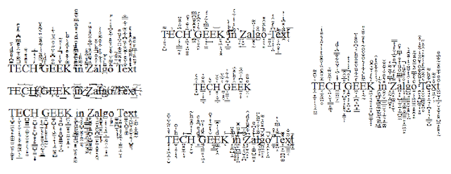 What is Zalgo Text and How to Use it? 1