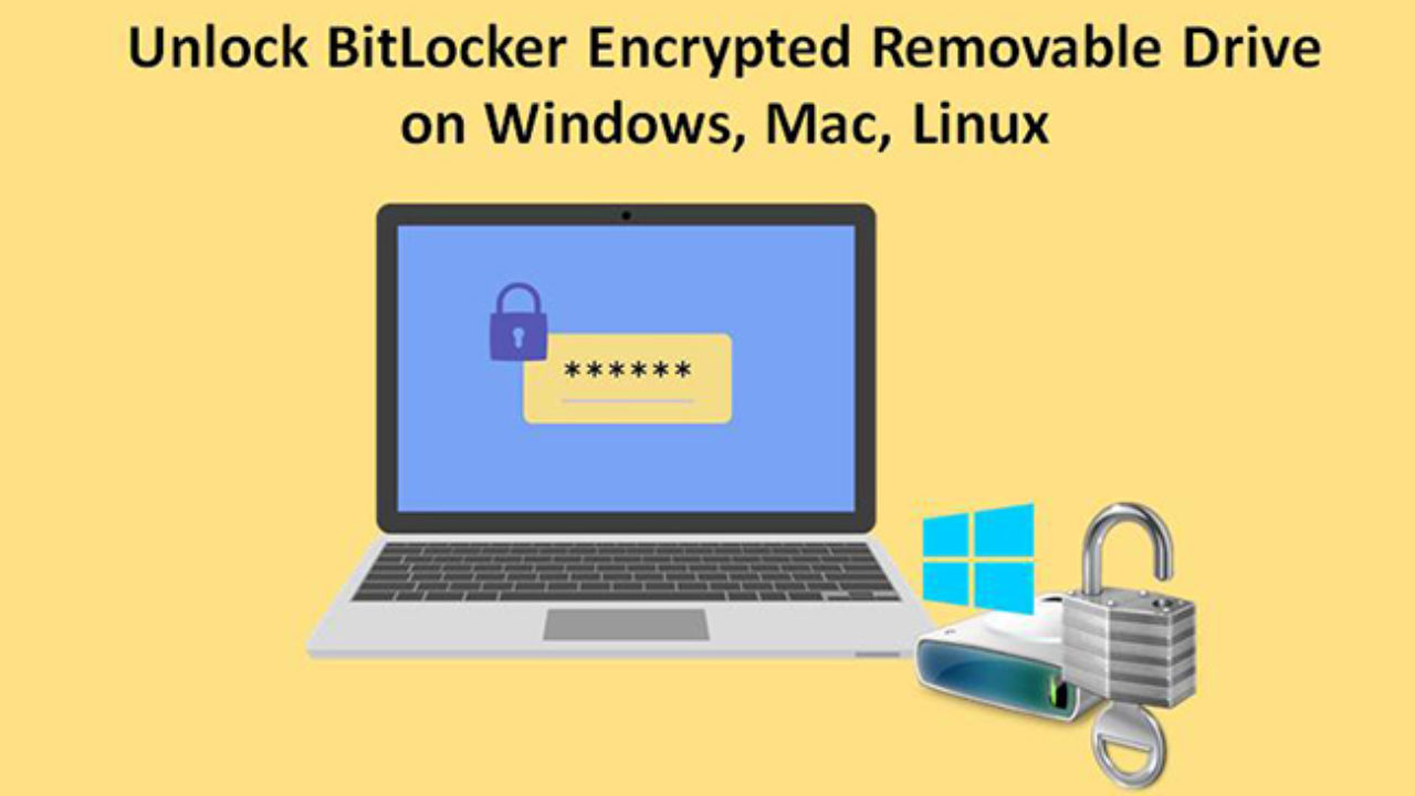 How to Unlock BitLocker Encrypted Drive on Windows, Mac and