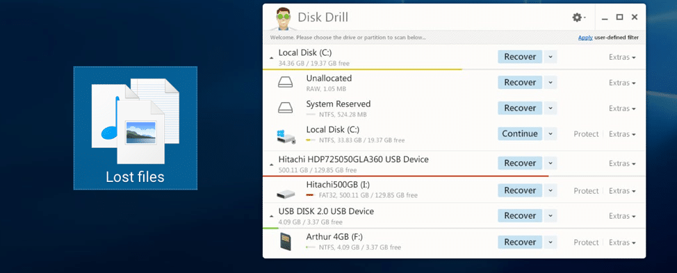 How to Recover Shift Deleted Files For Free Using Disk Drill For Windows 1