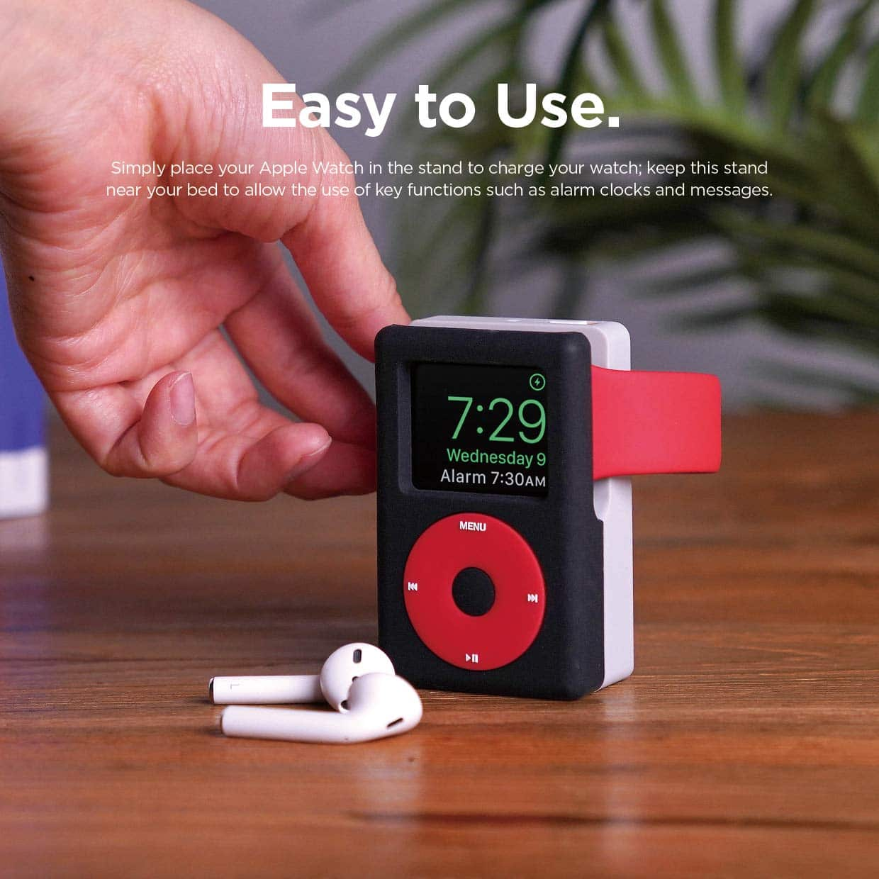 This Charging Stand Turns Your Apple Watch into an iPod 3