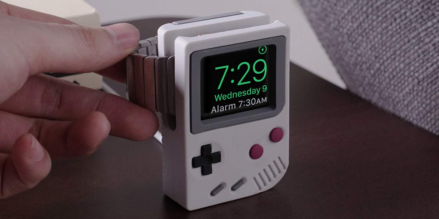 This Charging Stand Turns Your Apple Watch into an iPod 2