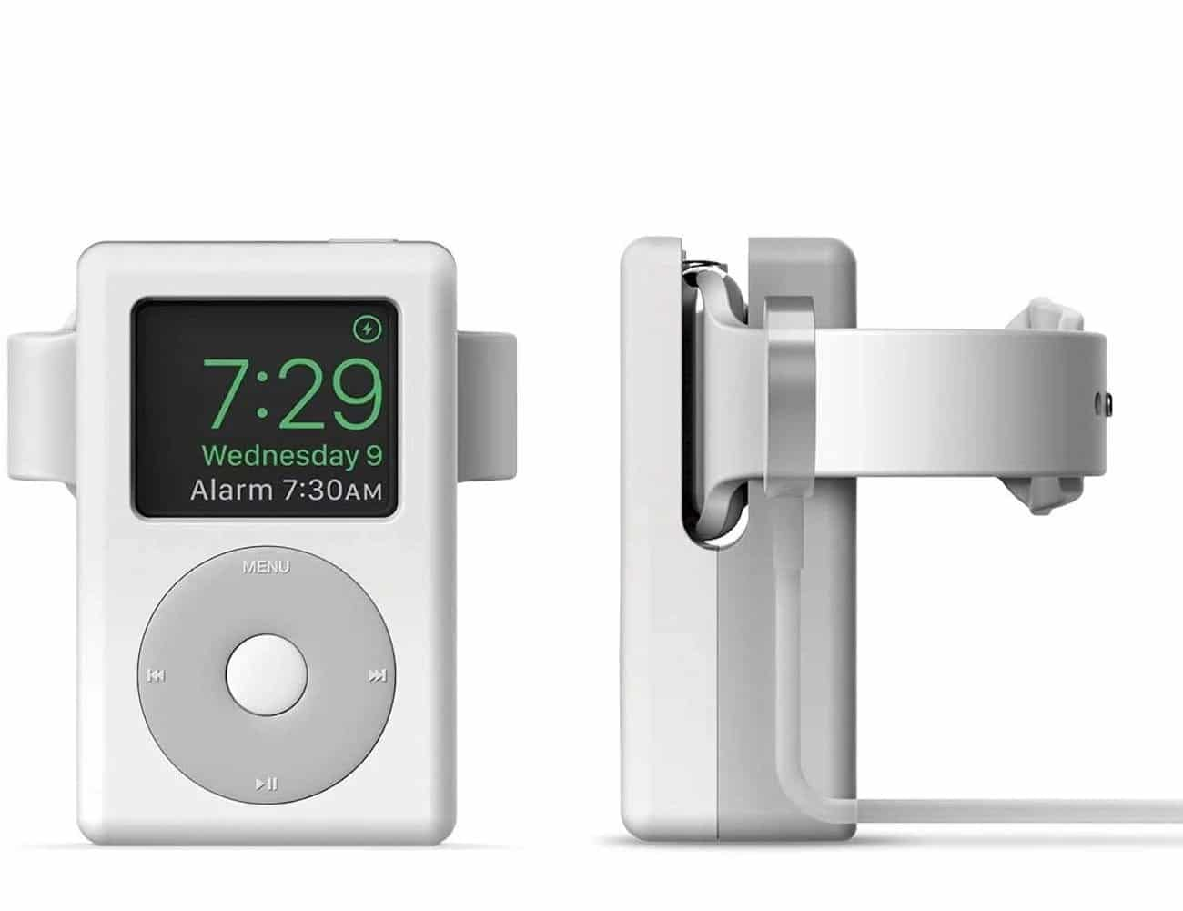 This Charging Stand Turns Your Apple Watch into an iPod 1