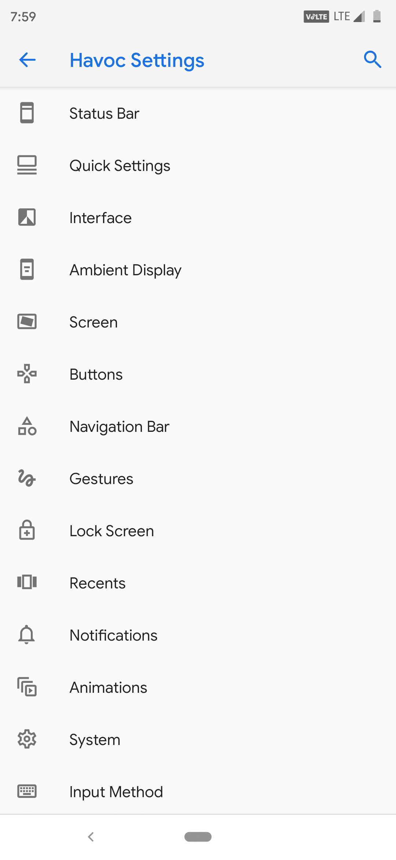 Havoc OS Pie ROM for Xiaomi Redmi Note 7 Pro 3