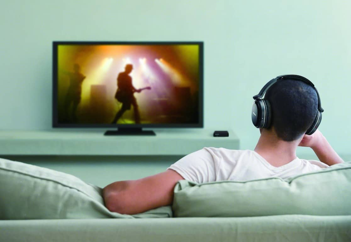 Wireless headphones for tv