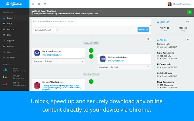 Top Free Online Torrent Clients for Downloading Torrents on the Cloud 1